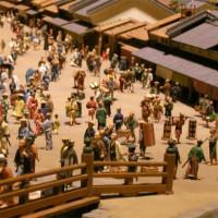 Miniatuurtjes in het Edo-Tokio museum