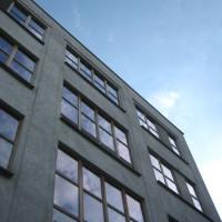 Bovenkant van het Ecohuis Antwerpen