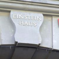 Naambord van het Huis van Einstein