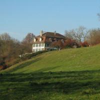 Het landhuis Elfenau