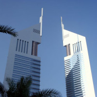 Top van de Emirates Towers