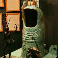 Kunstwerk in de Espace Montmartre-Dalí