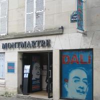Ingang van de Espace Montmartre-Dalí