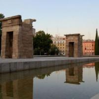Monument op het Plaza de España