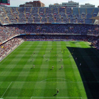 Wedstrijd in het Estadio Mestalla
