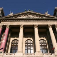 Voorgevel van het Etnografisch Museum