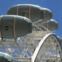Cabines van het London Eye