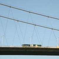 Voertuigen op de tweede Bosporusbrug