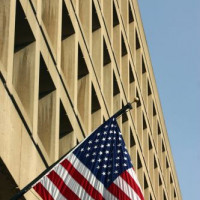 Gevel van het J. Edgar Hoover FBI building