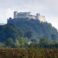 Vergezicht op de Festung Hohensalzburg