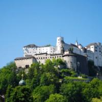 Beeld van de Festung Hohensalzburg