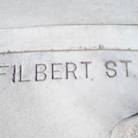Aanduiding van Filbert Street