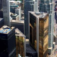 Torens van het Financial District