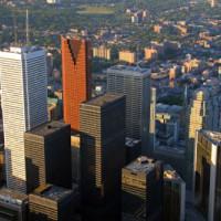 Beeld van het Financial District
