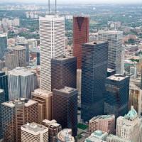 Wolkenkrabbers van het Financial District