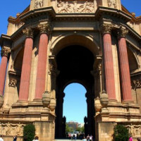 Zicht op de Rotunda