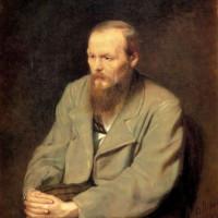 Portret van Dostojevski