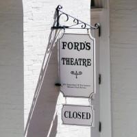 Naambord van Ford's Theatre