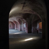 Gangen van Fort Mason