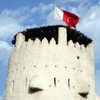 Top van het Fort van Umm al Quwain