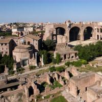 Op het Forum Romanum