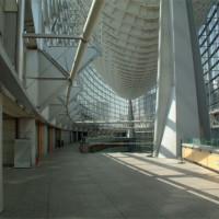 De vloer van het Tokyo International Forum