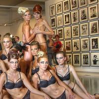 Modellen in het Fotomuseum