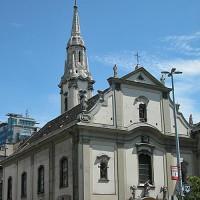 Zicht op de Franciscanenkerk