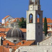 Toren en koepel van het Franciscanenklooster