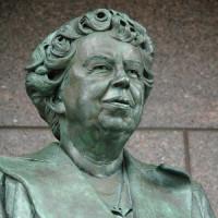 Beeld van Eleanor Roosevelt