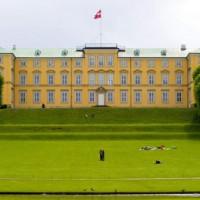 Gevel van het Slot Frederiksberg