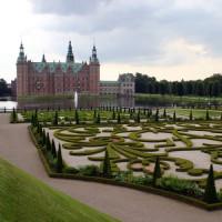 Tuinen bij het Slot Frederiksberg