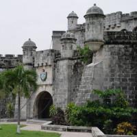 Poort van het Castillo de la Real Fuerza