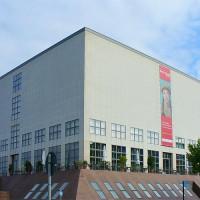 Buitenkant van de Galerie der Gegenwart