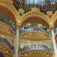 Balkons in de Galeries Lafayette