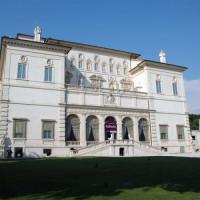 Voorkant van het Museo e Galleria Borghese