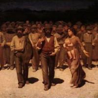 Schilderij in de Galleria d`Arte Moderna