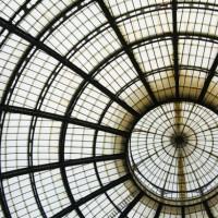 Koepel van de Galleria Vittorio Emanuele II