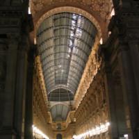 's Nachts in de Galleria Vittorio Emanuele II