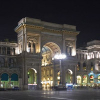 's Nachts op de Piazza del Duomo