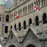 Vlaggen op de Gare Windsor