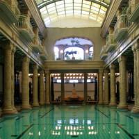 Interieur van de Gellértbaden