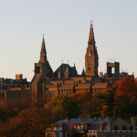 Vergezicht op Georgetown University