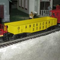 Miniatuur treinstel