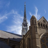 Toren op Grace Cathedral