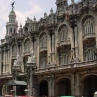 Gevel van het Gran Teatro de la Habana