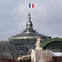 Vlag op het Grand Palais