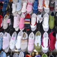 Schoenen op de Grand Bazaar