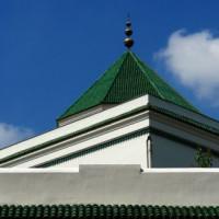 Detail van de Grande Mosquée de Paris