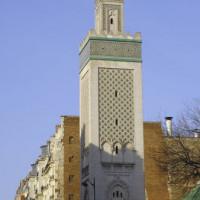 Minaret van de Grande Mosquée de Paris